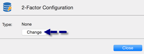 Two Factor Configuration