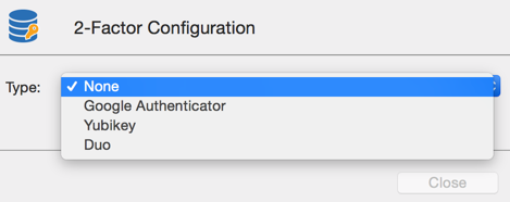 Two-Factor Configuration